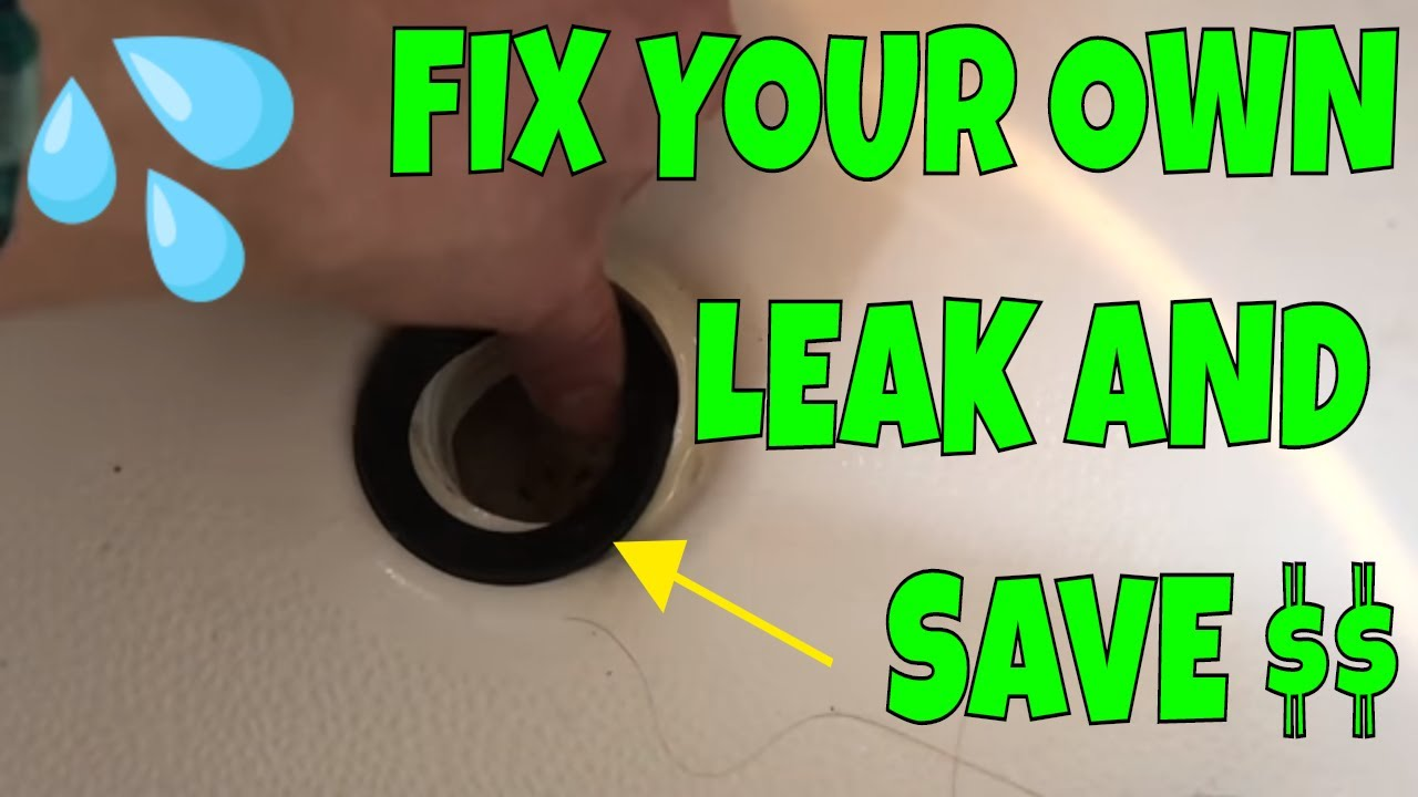 How To Replace Bathtub Drain Shoe Gasket Youtube