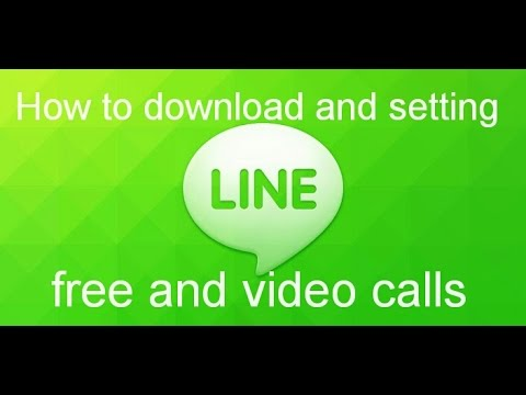 Line chat and video voice calling app download, install.