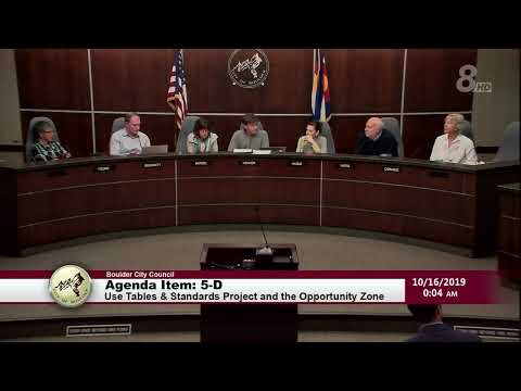 Boulder City Council Meeting 10-15-19