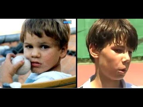 Rafa Nadal And Roger Federer When They Were Young Youtube