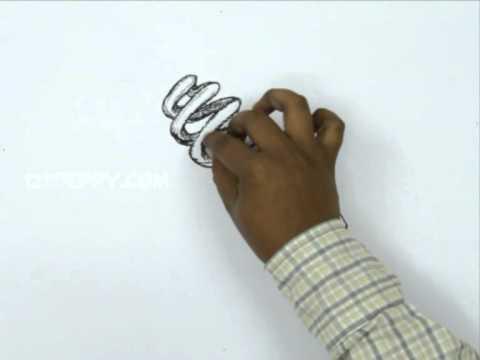 How to Draw a Energy Saving Light