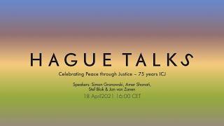 Celebrating Peace through Justice – 75 years ICJ | Livestream HagueTalks