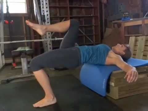 Single Leg Hip Thrust (Alternating)