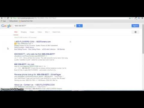 Free Reverse Phone Number Lookup Tutorial & How-To