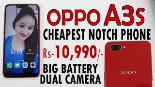 OPPO A3s - Unboxing & Overview - In Hindi