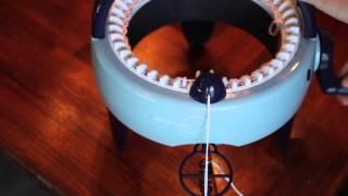 Hvordan strikke en hals / How to knit a scarf - Prym Maxi knitting mill