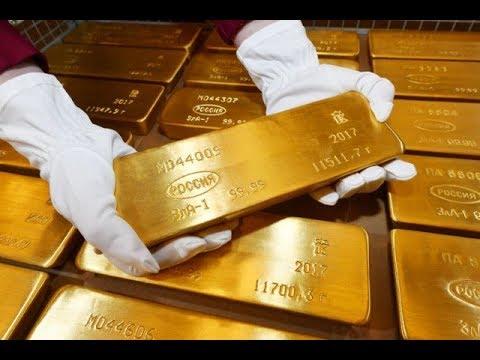 Как хранится золотой запас России. Хранилище Банка России