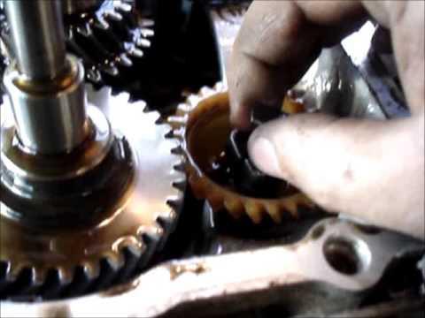 Kohler Command 15HP internal governor repair - YouTube