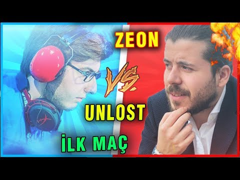 ZEON VS UNLOST BÜYÜK SECTÖR CUP KAPIŞMASI