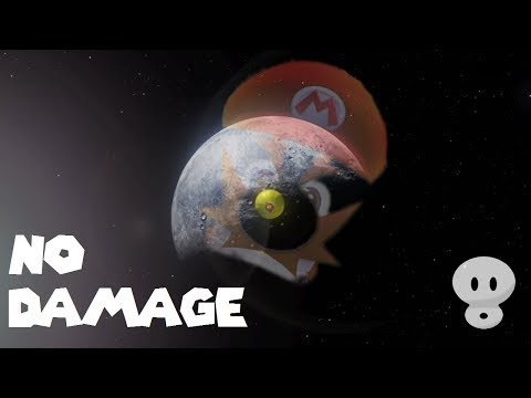 Destroying Darker Side | No Damage No Skip (Super Mario Odyssey)