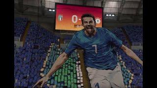 Partita di calcio - Italia vs Germania - Fifa 19