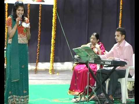 Lali Lali [Swathi Mutyam] - P Susheela program - Nishitha Vissamraju and Pla