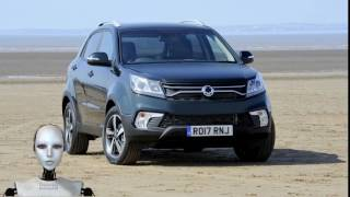 New 2017 SsangYong Korando Facelift UK Spec