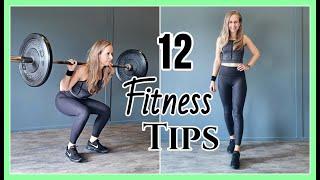 12 Fitness Tips - Effectief trainen in de sportschool //OPTIMAVITA