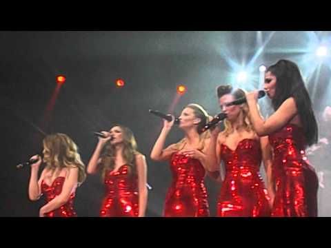 Girls Aloud I'll Stand By You Newcastle - Ten The Hits Tour