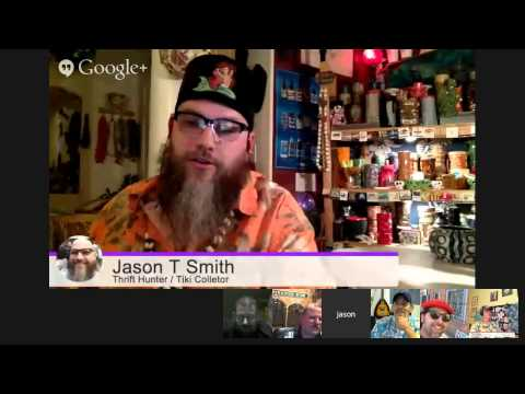 THE COLLECTOR'S CATACOMB #12 THURS 9:30p EST; JASON T. SMITH, TIKI, THRIFT HUNTERS
