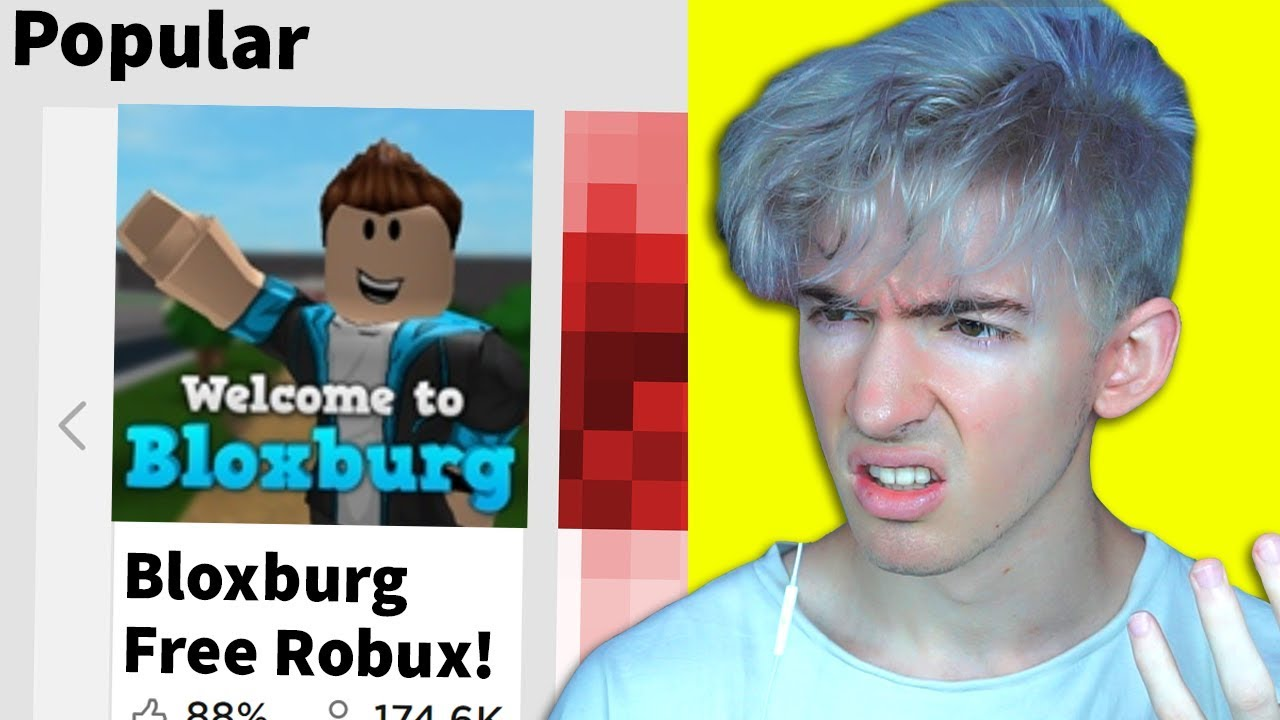 Have you fallen for this Robux scam? (probably   )