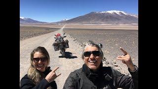 VIAGEM ALUCINANTE!!! Cordilheira dos Andes - PASO DE SÃO FRANCISCO - EU E ELA de MOTO