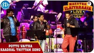 Maestro Ilaiyaraaja Live Concert - Pottu Vaitha Kaadhal Thittam Song - Karthik || California