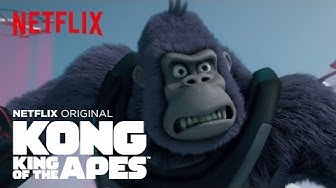 Kong On Ice | Kong King of the Apes | Netflix Futures