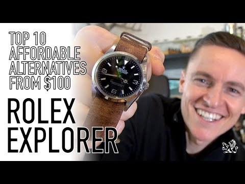 My Top 10 Best Rolex Explorer Non Homage Affordable Alternatives - From $100 & Under $4000