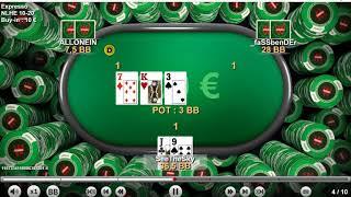 Spin and Go x10 100 eвро. Затащил 23 %.