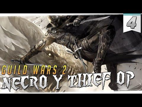 GUILD WARS 2 | Necro Elites y Rasgos - Thief al 80 para McM HYPE!!!