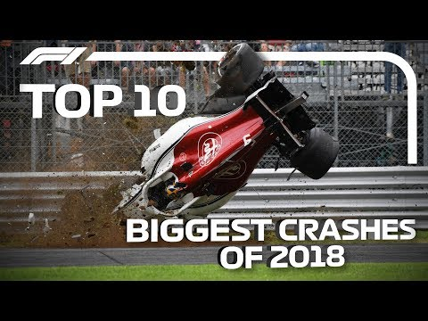 Top 10 Biggest Crashes Of 2018