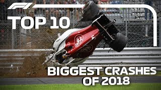 Top 10 Biggest Crashes of 2018