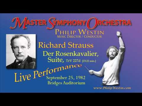 Strauss, Richard / Der Rosenkavalier Suite Master Symphony Orchestra, Philip Westin, conductor