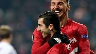 Henrikh Mkhitaryan GOAL Rostov vs Manchester United 09/03/2017