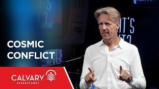 Cosmic Conflict - Revelation 12:1-6 - Skip Heitzig