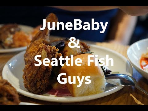 08.04.2019 - Pike Place, Seattle Fish Guys, And JuneBaby