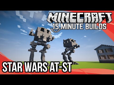 Minecraft 15-Minute Builds: Star Wars AT-ST