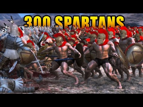 300 SPARTANS Vs 10,000 PERSIANS!!! | Ultimate Epic Battle Simulator HD