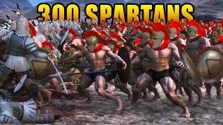 300 SPARTANS Vs 10,000 PERSIANS!!! | Ultimate Epic Battle Simulator HD thumbnail