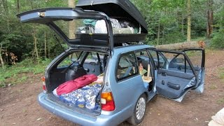 How to Build a Tiny House in your CAR!