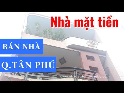 Chính chủ bán nhà Mặt tiền đường Nguyễn Văn Ngọc, phường Tân Thành, quận Tân Phú