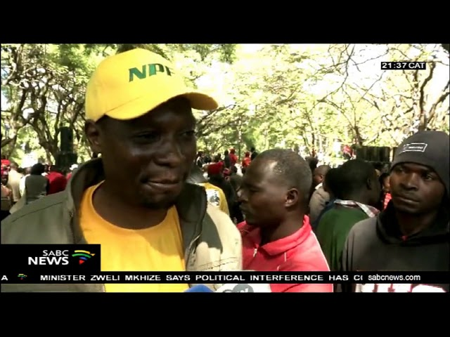 Zimbabwe opposition MDC leader Nelson Chamisa says no election in Zimbabwe until electoral reforms.