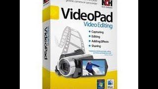 Кряк VideoPad Video Editor + русская версия - 32bit система