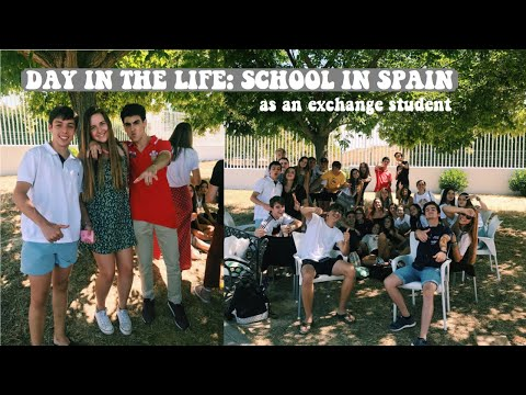 SPANISH SCHOOL VLOG DAILY LIFE// american exchange student in sevilla, spain