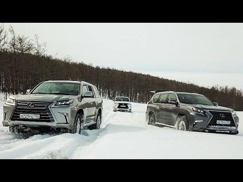 Кто заедет на ГОРУ первым - Lexus LX 570 vs НОВЫЙ Lexus GX 460?