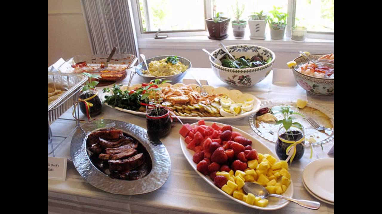 Easy Wedding Shower Brunch Ideas