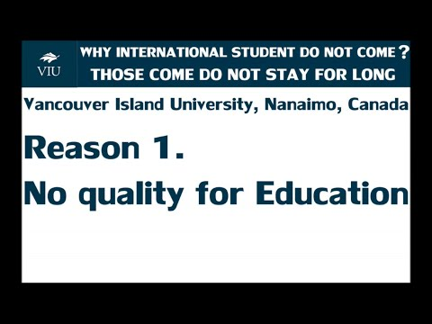 TOP 14 REASONS FOR NOT GOING TO vancouver island university ,(NANAIMO) CANADA