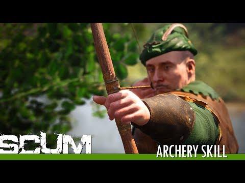 SCUM - Archery Skill