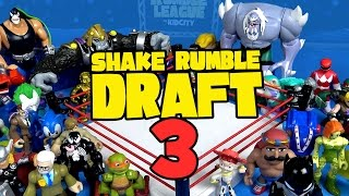 Shake Rumble DRAFT #3 ft. Sonic, Toy Story, Batman, Star Wars, Transformers Toys by KidCity