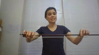 Violin with Aurora Del Rio Perez - Bow exercises for advanced Part 1