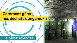 Environnement : l'épineuse question de la gestion des déchets dangereux de l'industrie