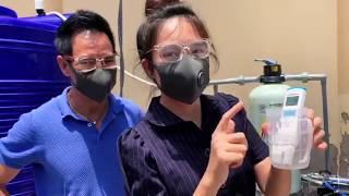 Lắp đặt máy lọc nước cho bà con xã Bình Khánh, Bình Đại - Bến Tre | Lý Hải Minh Hà