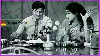 Krishna & His Sister Lakshmi Talking About Servant - In Puttinillu Mettinillu Telugu Movie